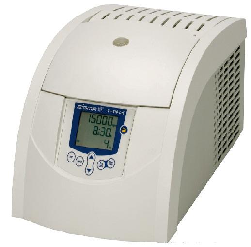 德国Sigma1-14K小型台式冷冻离心机