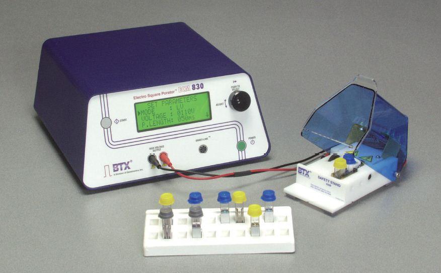 BTX ECM830 方波电穿孔系统