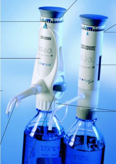 德国Hirschmann瓶口移液器