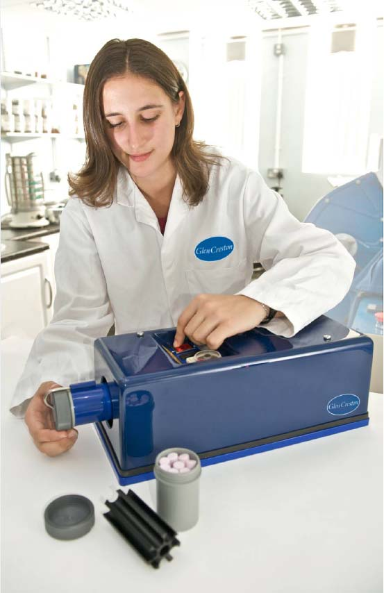 McCrone纳米级样品研磨机系统